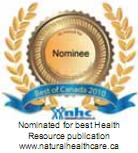 Nominee Best Health Resource Publication